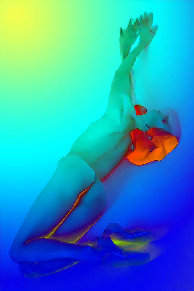 Fractured Nude in Pointe Shoes 03 (AZART 00060)