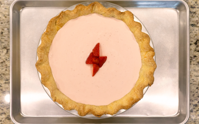 StrawbRARI Bolt Pie