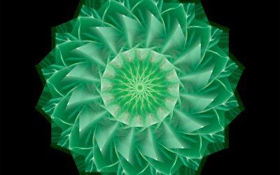 Yin Mandala: Green