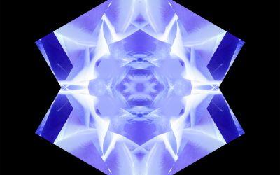 Yin Mandala: Indigo