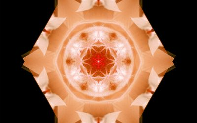 Yin Mandala: Orange