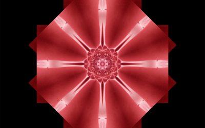 Yin Mandala: Red