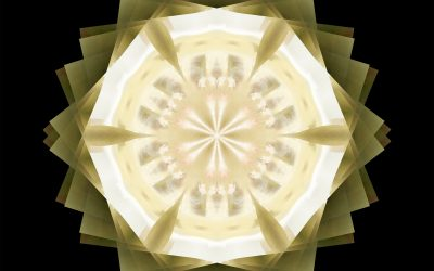Yin Mandala: Yellow